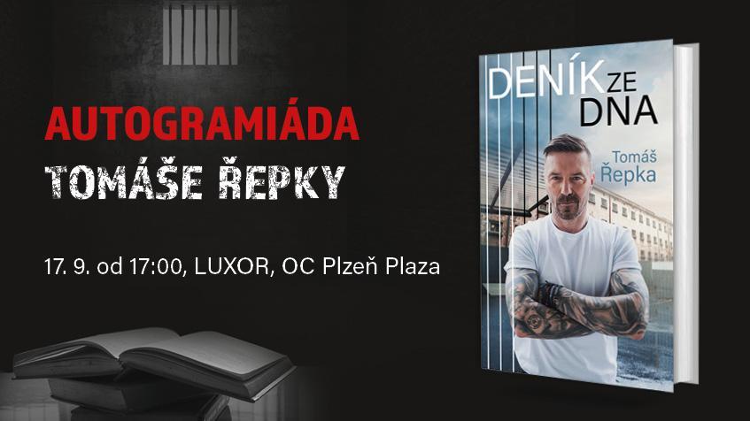 Autogramiáda Tomáš Řepky v Plzni!