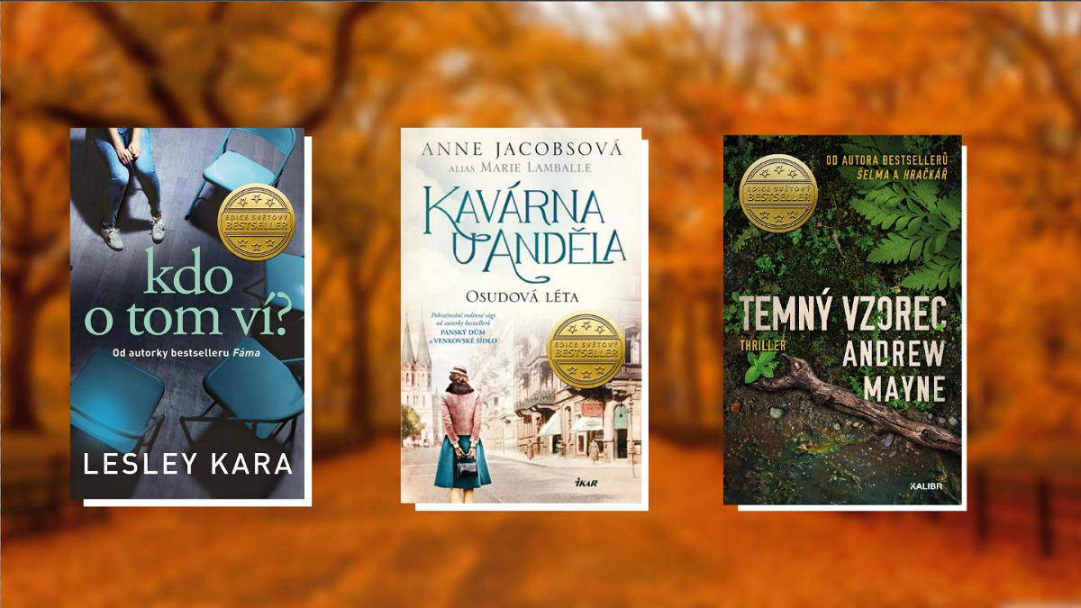 8 nejlepších knih, které vyjdou v říjnu