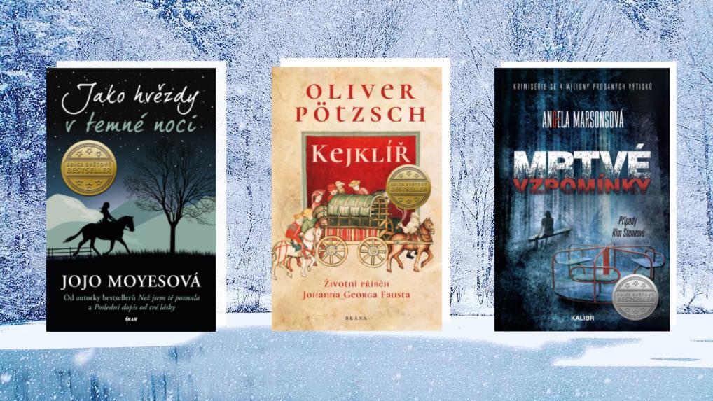 5 prosincových knih, které zabalte pod stromeček!
