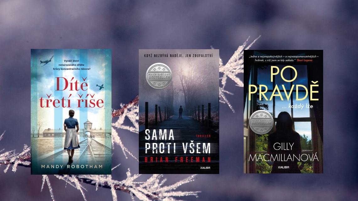 6 knižních důvodů, proč se těšíme na únor