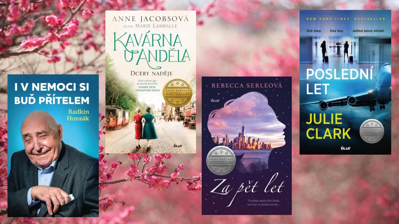 7 knižních důvodů, proč vyhlížíme duben