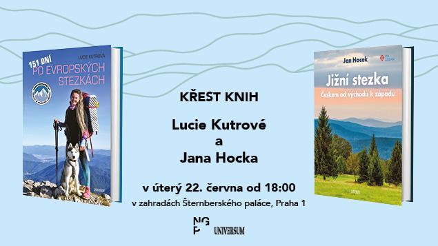 Křest knih Lucie Kutrové a Jana Hocka