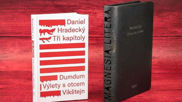 Laureátem ceny Magnesia Litera 2021 se stal Daniel Hradecký