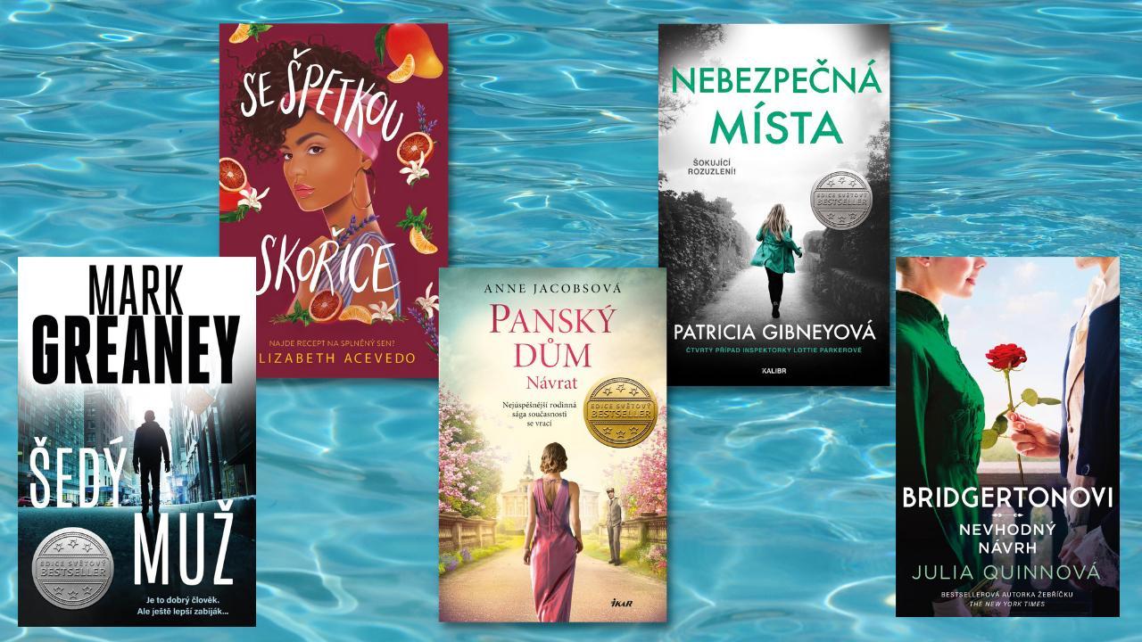 Červencové knihy, které si zabalíme na dovolenou!