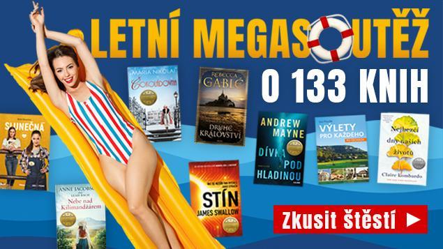 Velká letní soutěž o 133 knih!