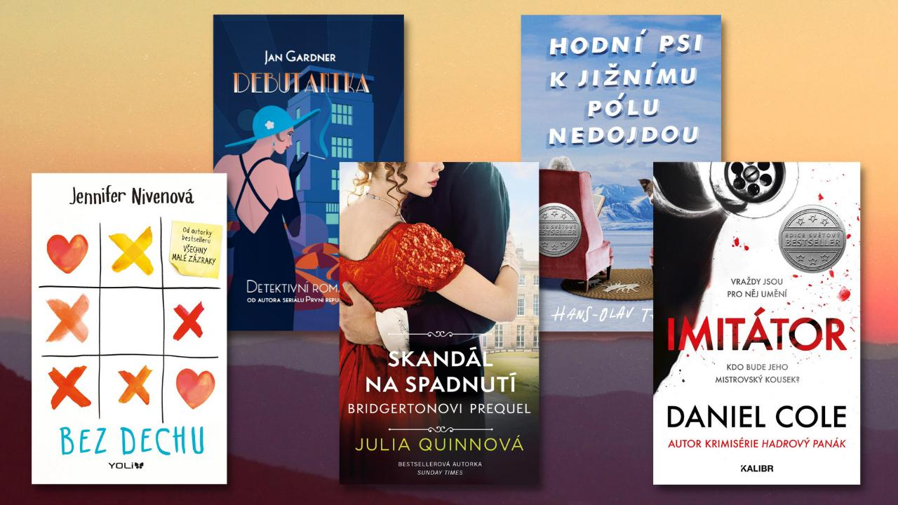 8 srpnových knih, od kterých se neodtrhnete!