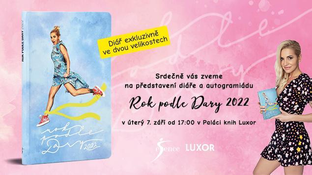 Autogramiáda Dary Rolins a jejího nového diáře