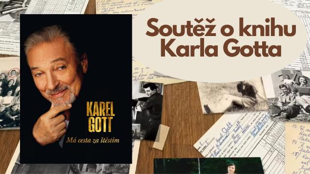 Vyhrajte autobiografii Karla Gotta!